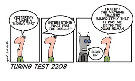 Test de turing para código