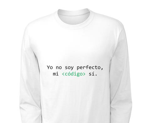 Yo no soy perfecto, mi código sí
