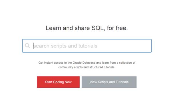 Aprender SQL gratis con Oracle