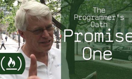 El juramento hipocrático del programador