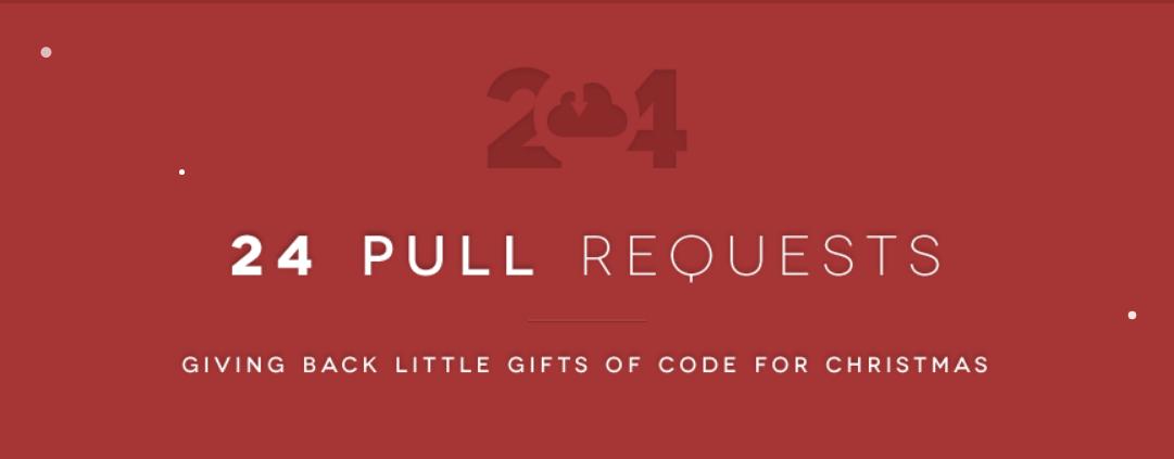 24PullRequests – Regala código para Navidad