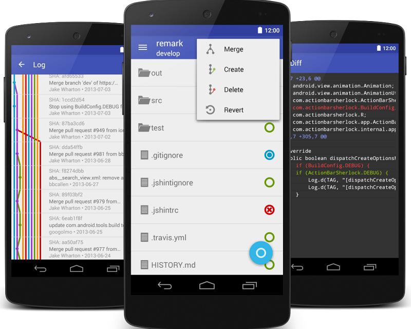 Las mejores apps para trabajar con Git y GitHub desde el móvil