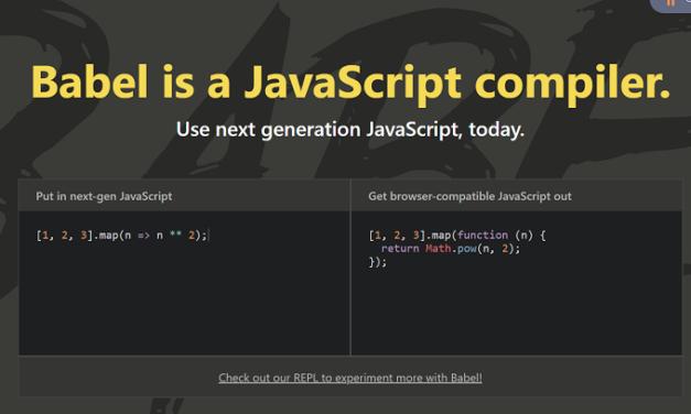 Babel – La solución a todos tus problemas de compatibilidad en JavaScript