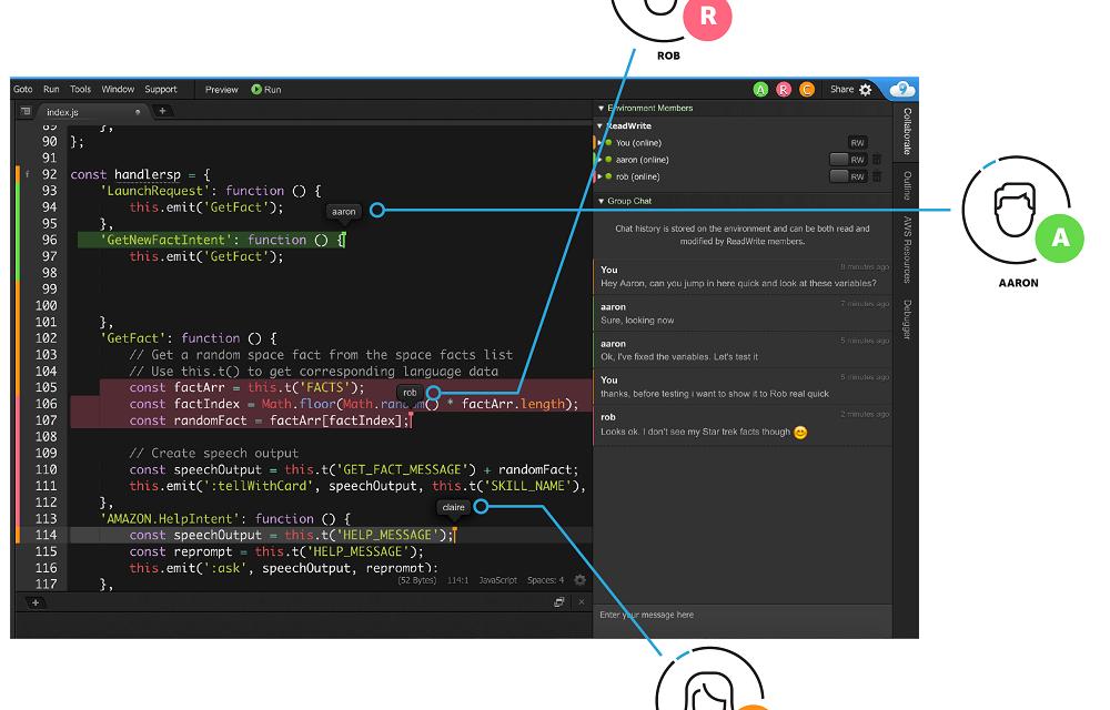 Online code editors