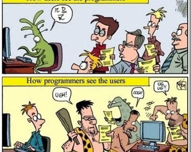 Lo más difícil de la programación son las personas, sobre todo al dar sus requisitos (vídeo)